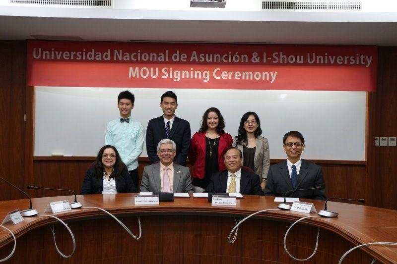 新闻主题:义大与巴拉圭国立亚松森大学 签订姊妹校协定
