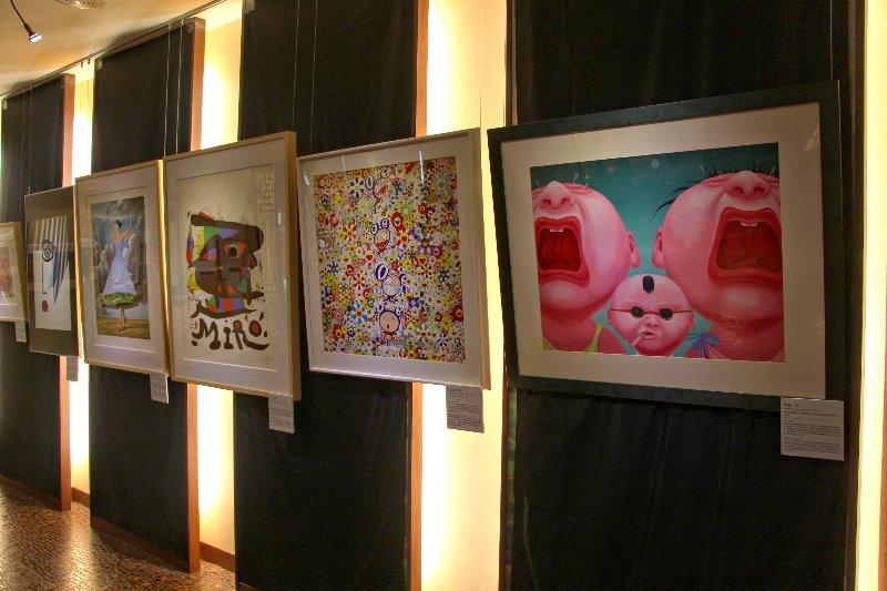 新闻主题:陈伟德夫妇版画收藏 义大开幕 米罗,村上隆等名作亮相图片